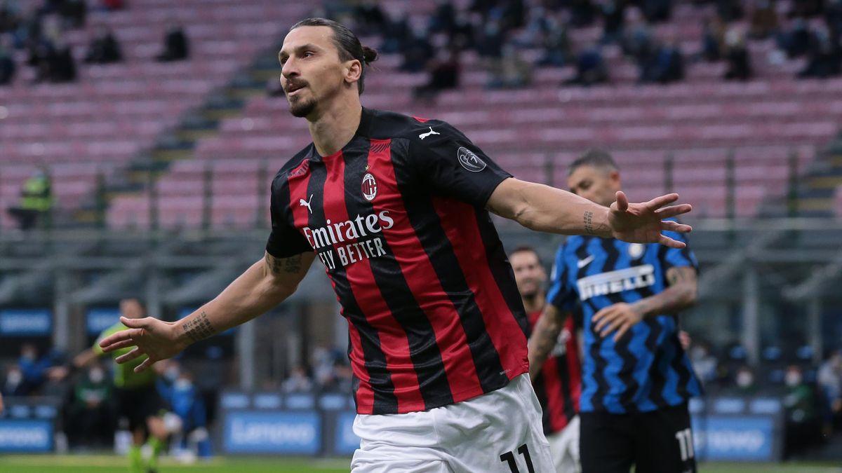 Matchwinner im Mailänder Derby: Zlatan Ibrahimovic