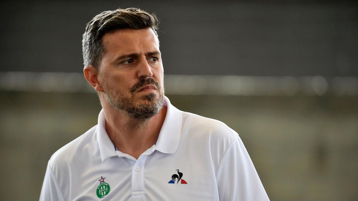 Oscar Garcia, entraîneur de l'ASSE
