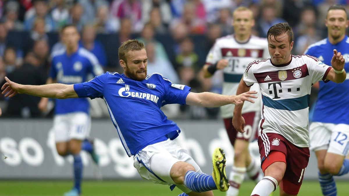 Schalke im Duell mit Bayern