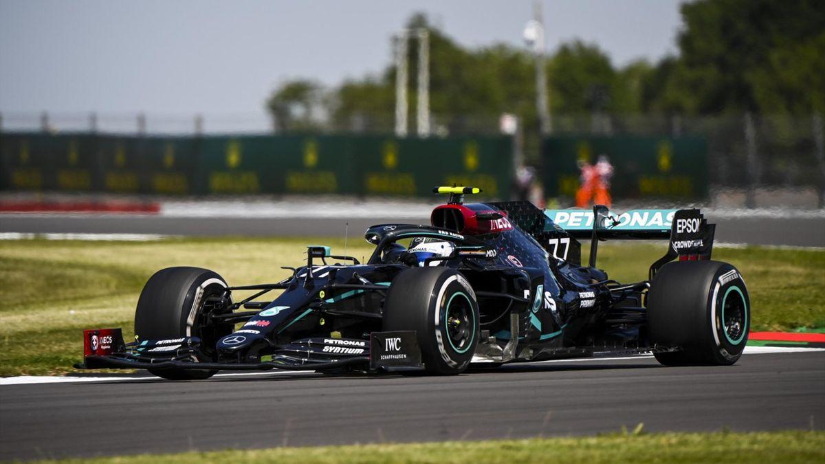 Valtteri Bottas (Mercedes) au Grand Prix de Grande-Bretagne 2020