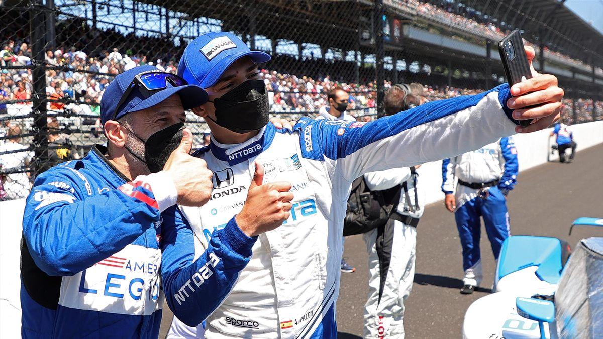 Palou en la Indy 500