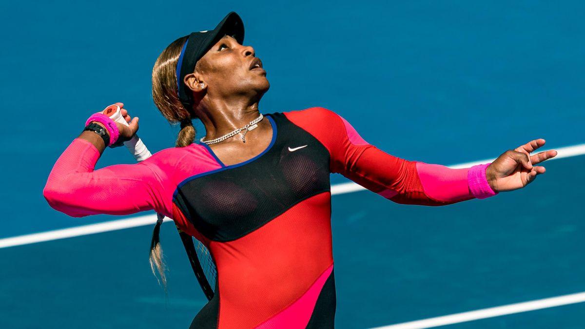 Los mejores puntos de Serena Williams en su paso por Melbourne