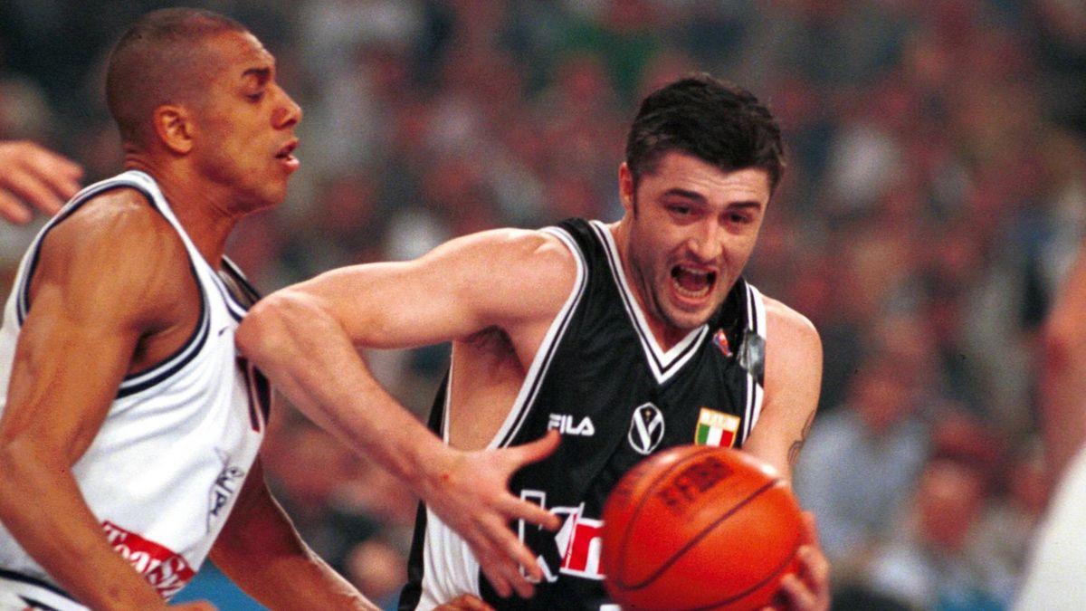Carlton Myers, Predrag Danilovic, Fortitudo Bologna-Virtus Bologna, Serie A 1998-1999