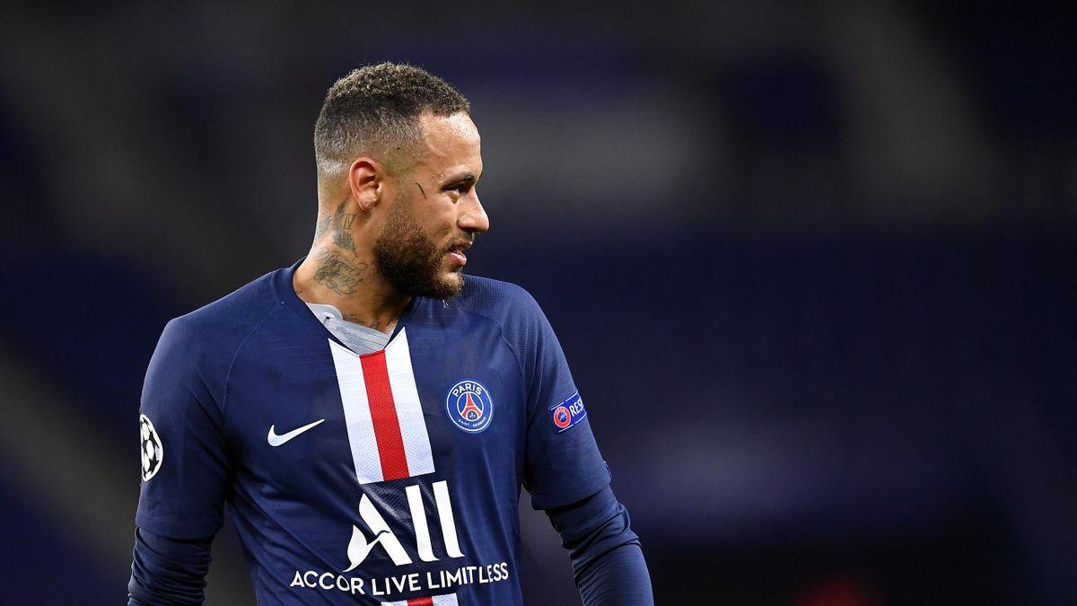 Neymar im Trikot von Paris Saint-Germain