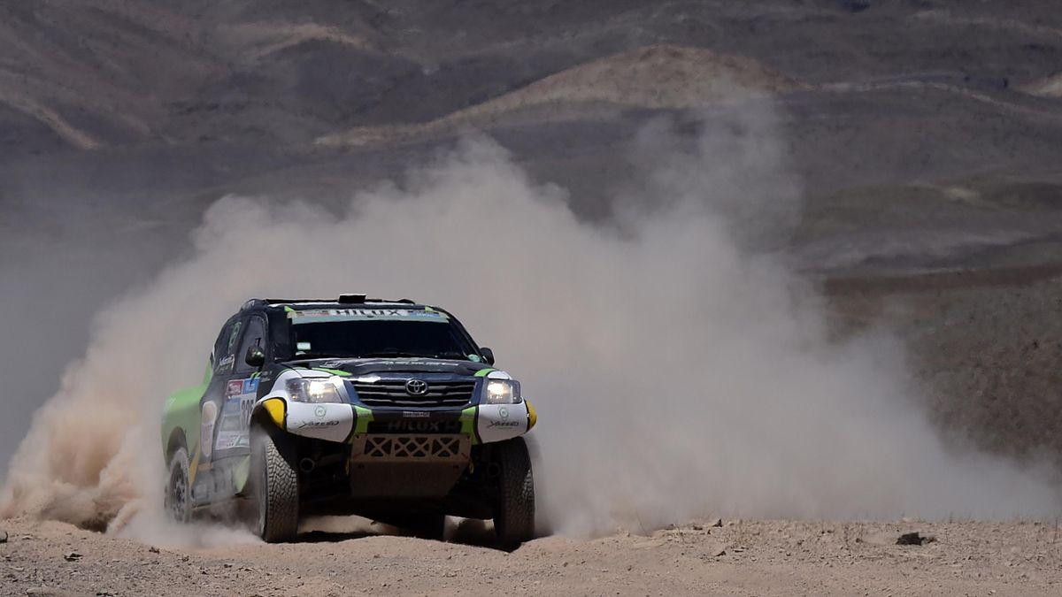 Yazeed Alrajhi (Toyota) sur le Dakar 2015