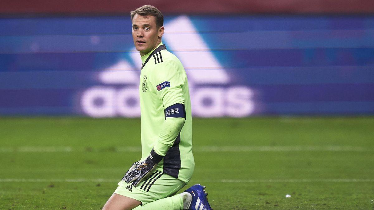 Manuel Neuer face à l'Espagne