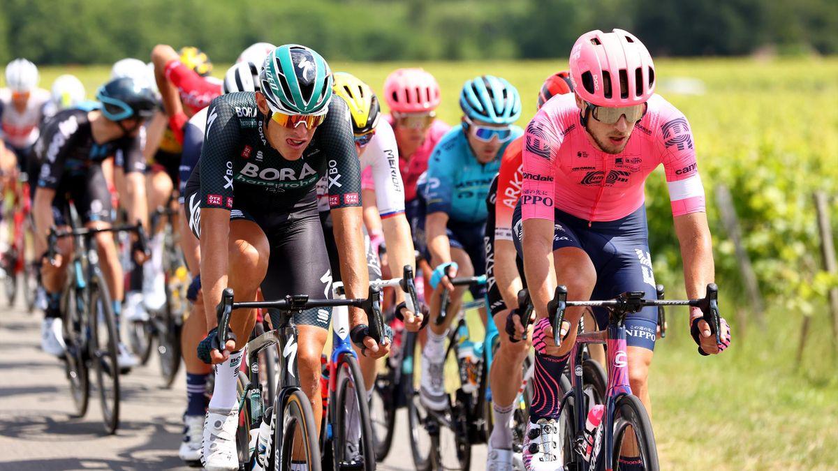 Nils Politt und Jonas Rutsch, Tour de France 2021