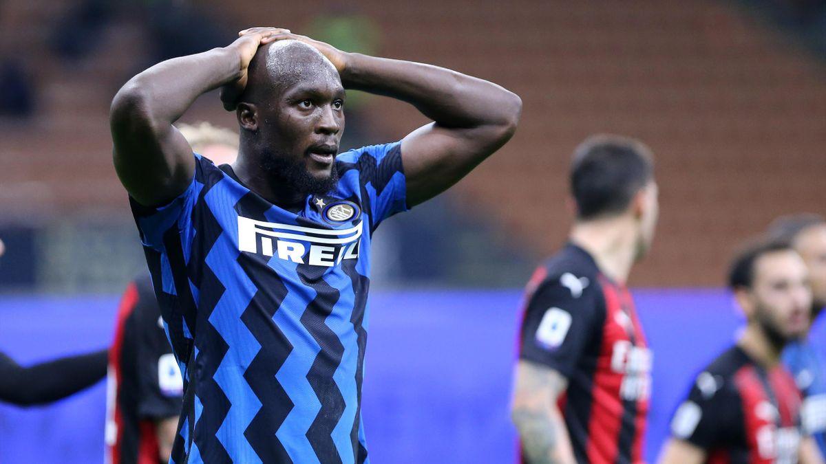 Romelu Lukaku muss beim Champions-League-Auswärtsspiel von Inter Mailand bei Real Madrid verletzungsbedingt zuschauen