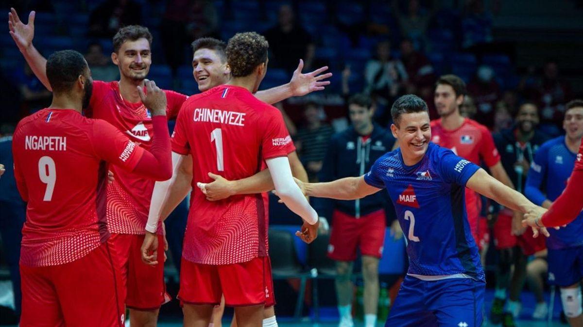 France - Allemagne au Championnat d'Europe, le 6 septembre 2021 à Tallinn