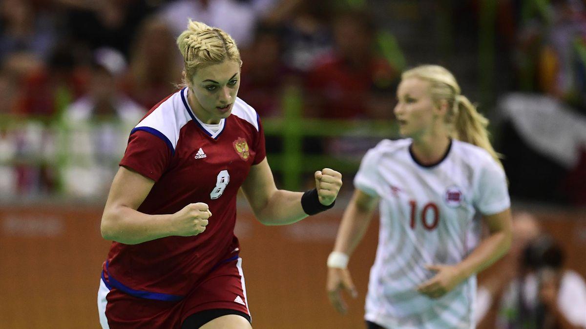 Анна Сень, сборная России
