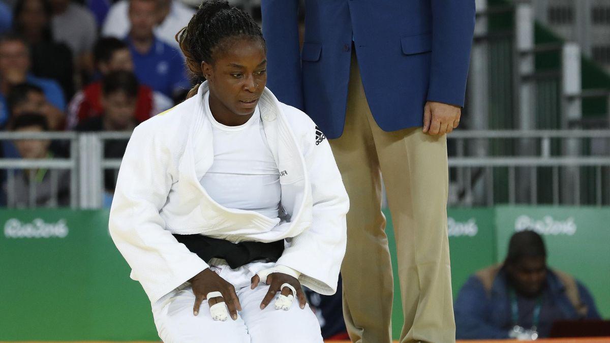 Gévrise Emane aux Jeux Olympiques de Rio