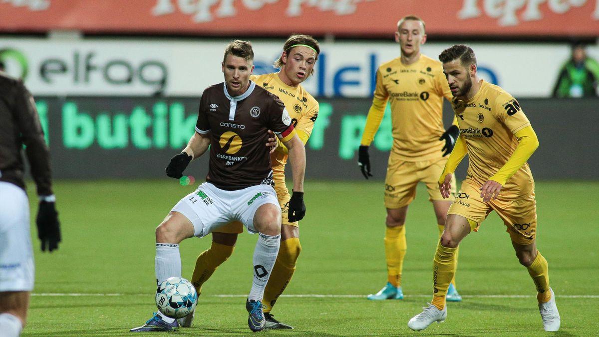 Christian Gauseth, Patrick Berg og Philip Zinckernagel Mjøndalen Bodø/Glimt