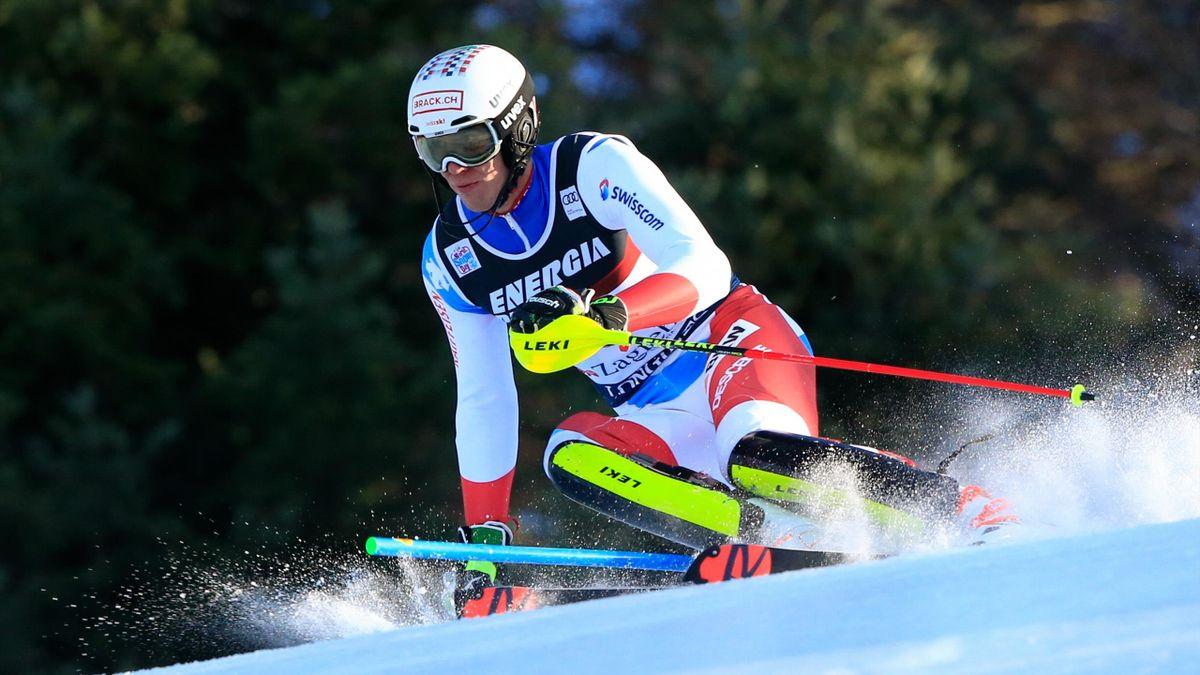 Ramon Zenhaeusern, slalom de Zagreb le 5 janvier 2020