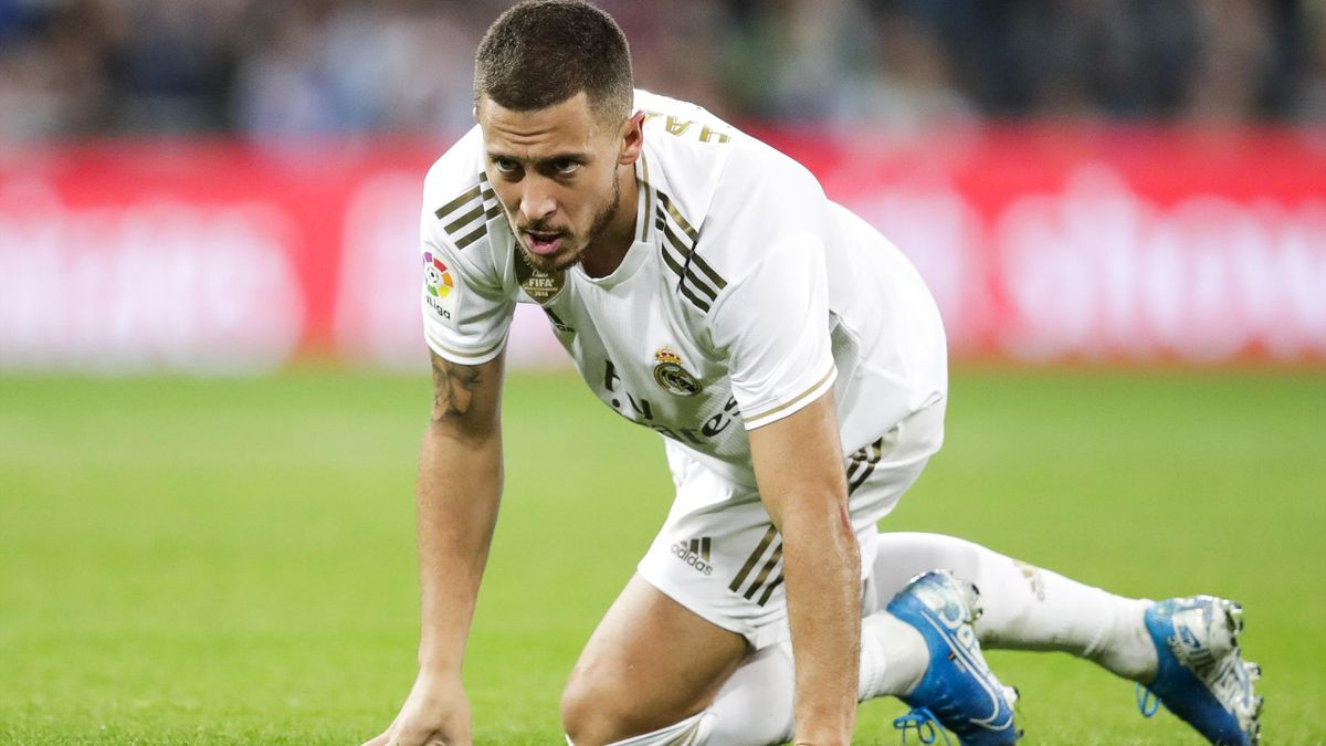 Spielte keine gute Debütsaison bei Real Madrid: Eden Hazard
