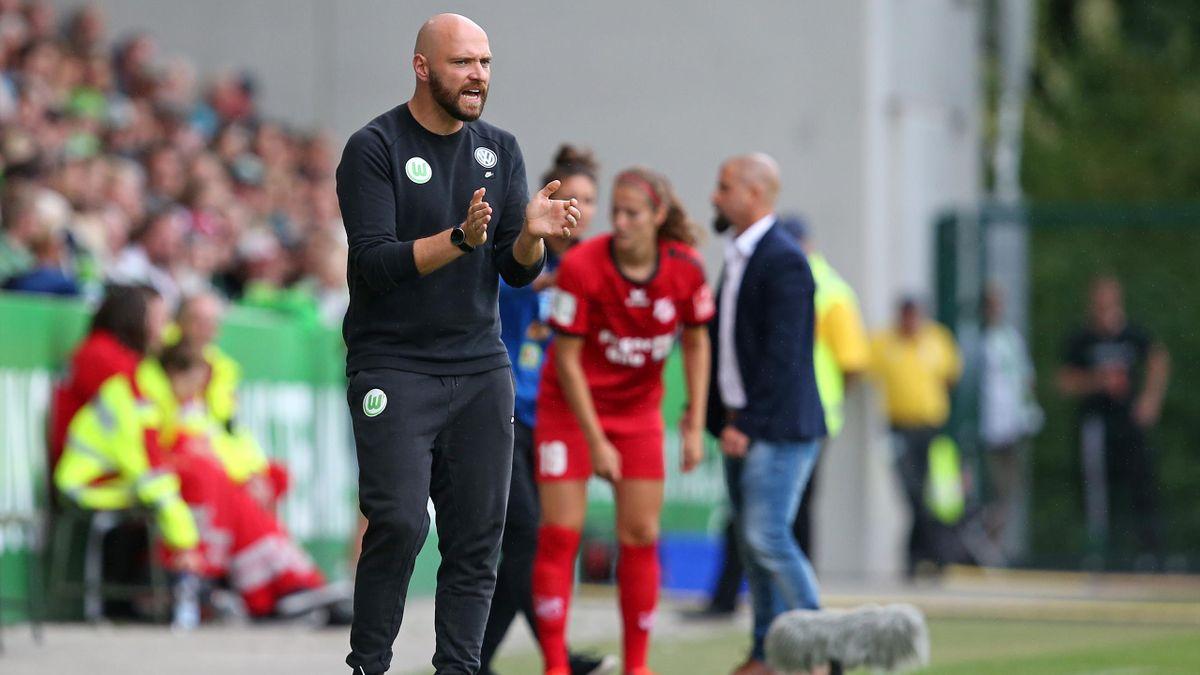 Stephan Lerch ist seit 2017 Trainer beim VfL Wolfsburg