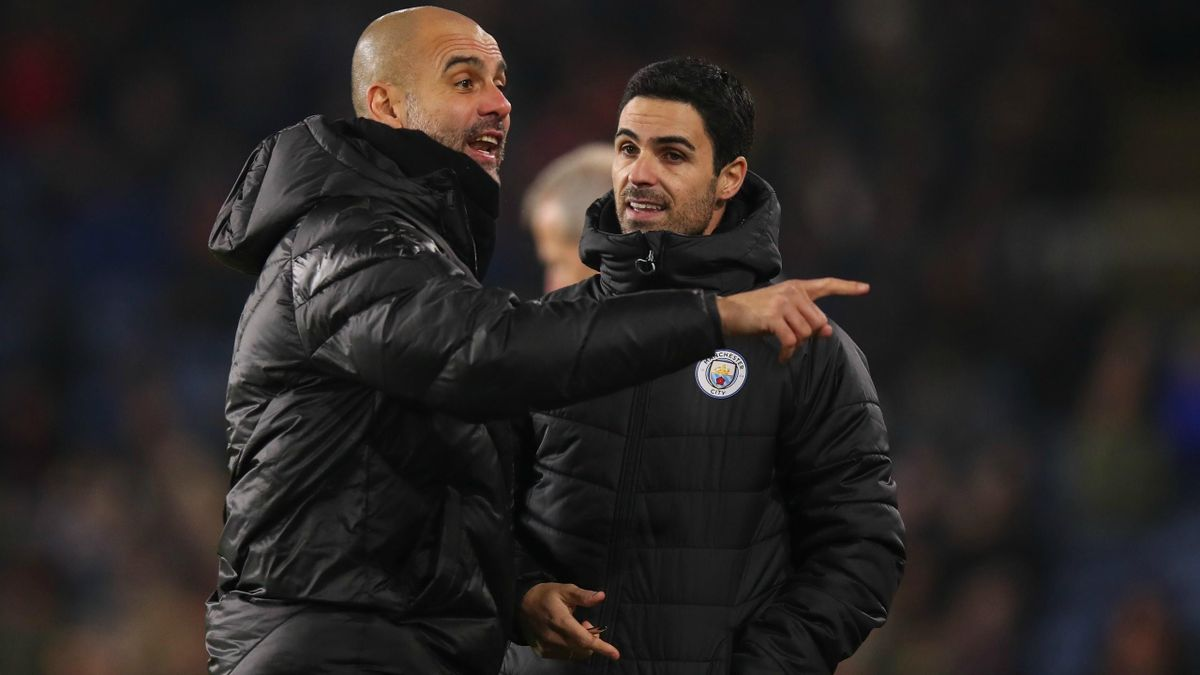 Pep Guardiola și Mikel Arteta au lucrat timp de 4 ani împreună la Manchester City
