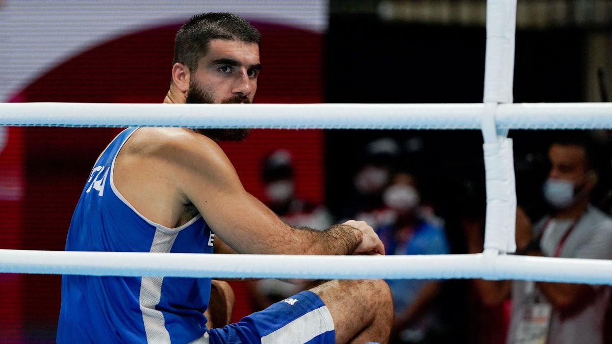 Mourad Aliev geht nach Disqualifikation in Sitzstreik