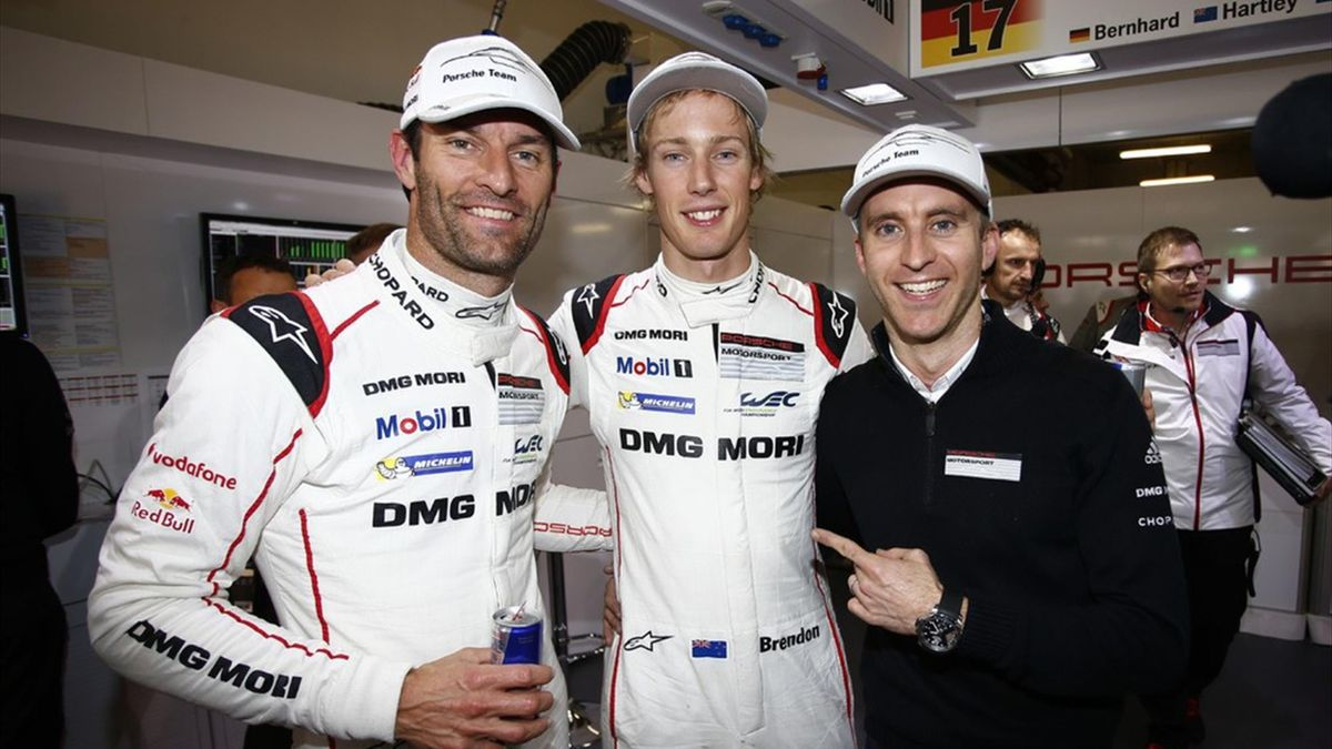 Webber, Hartley i Bernhard