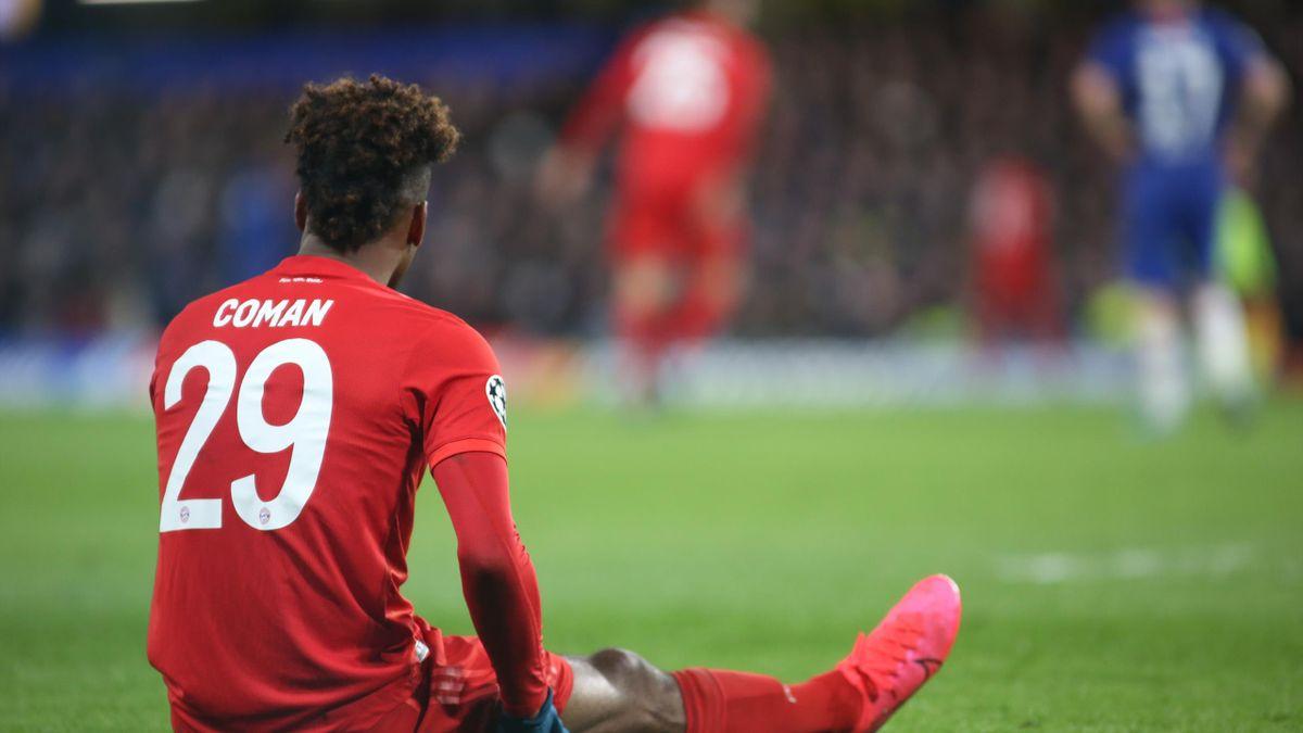 Kingsley Coman im Spiel gegen Chelsea