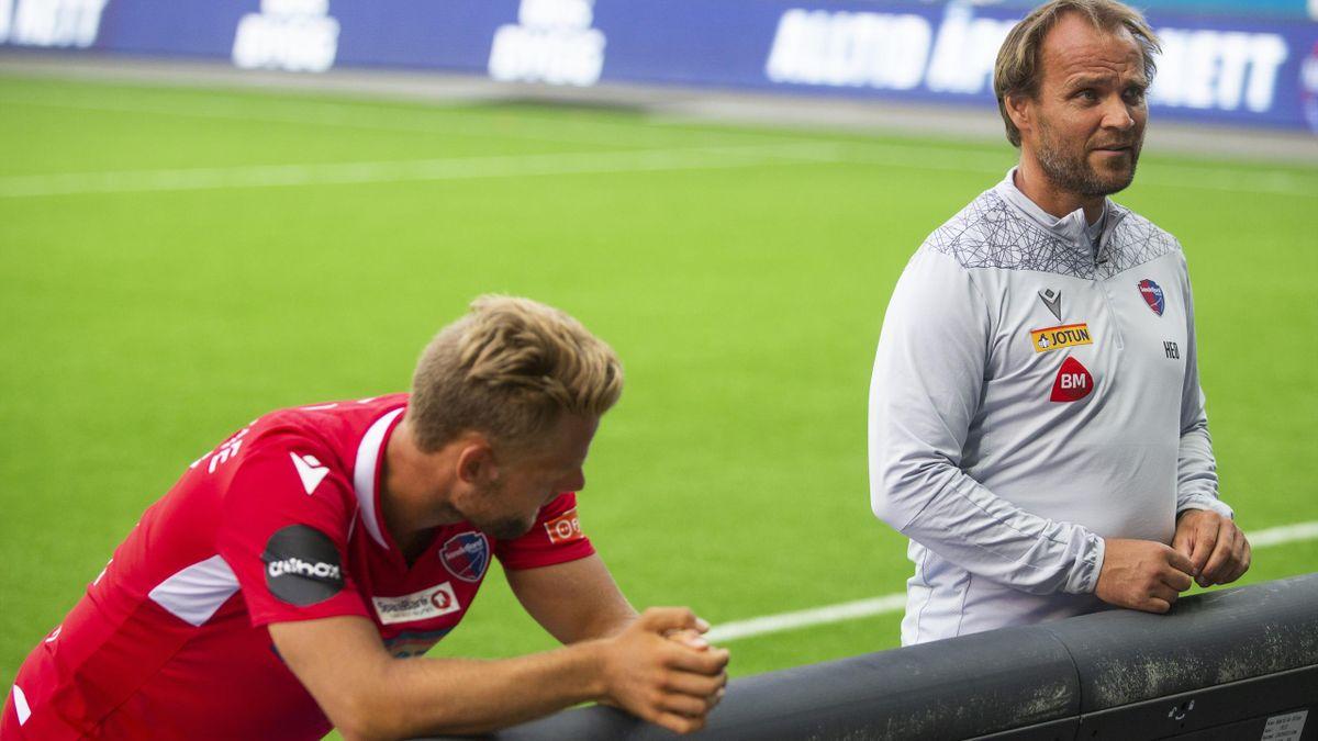 Mats Haakenstad og Hans Erik Ødegaard.