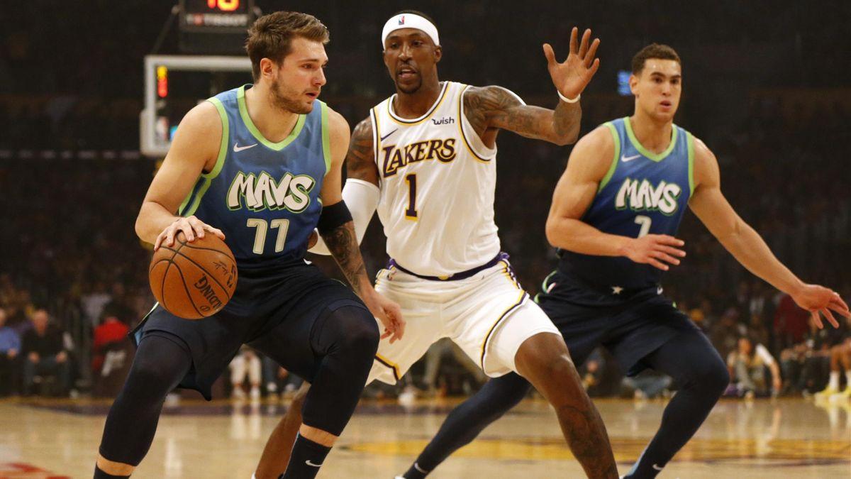 Luka Doncic contre les LA Lakers
