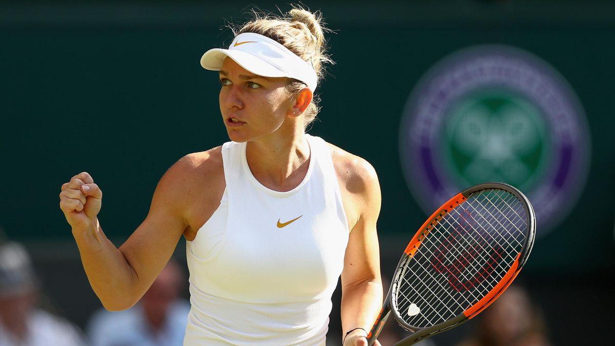 Simona Halep / Wimbledon 2018