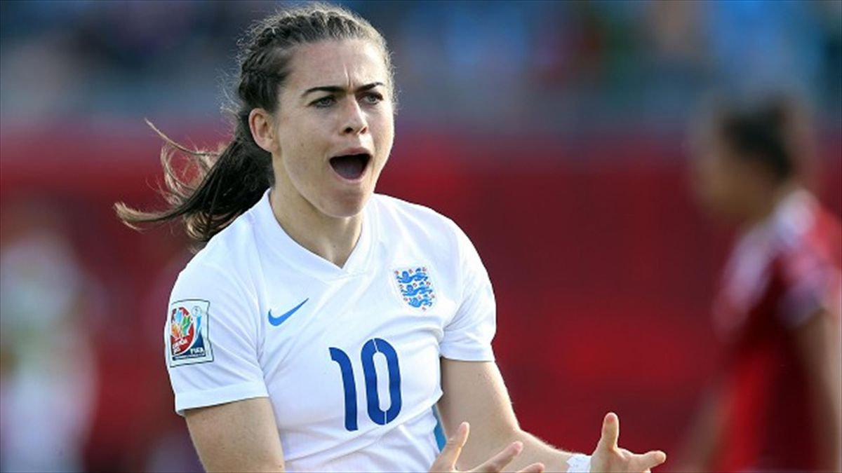 Karen Carney was on target as England beat Mexico 2-1 at the Women's World Cup in Canada