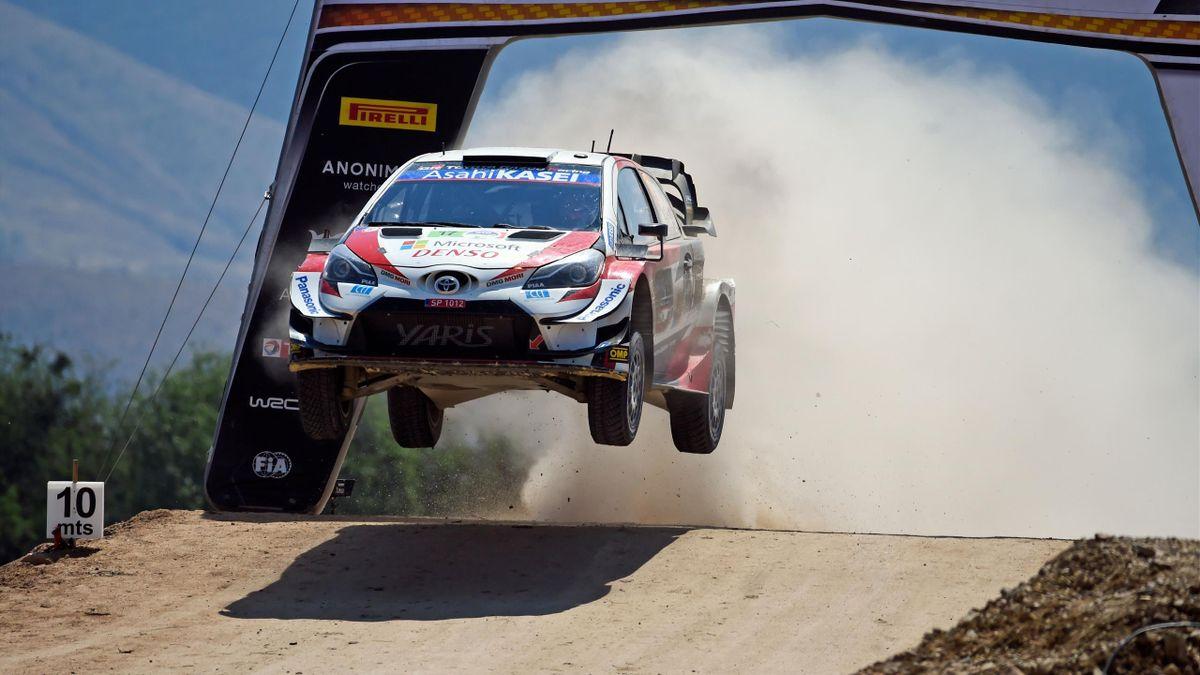 Sébastien Ogier (Toyota WRT) au Rallye du Mexique 2020