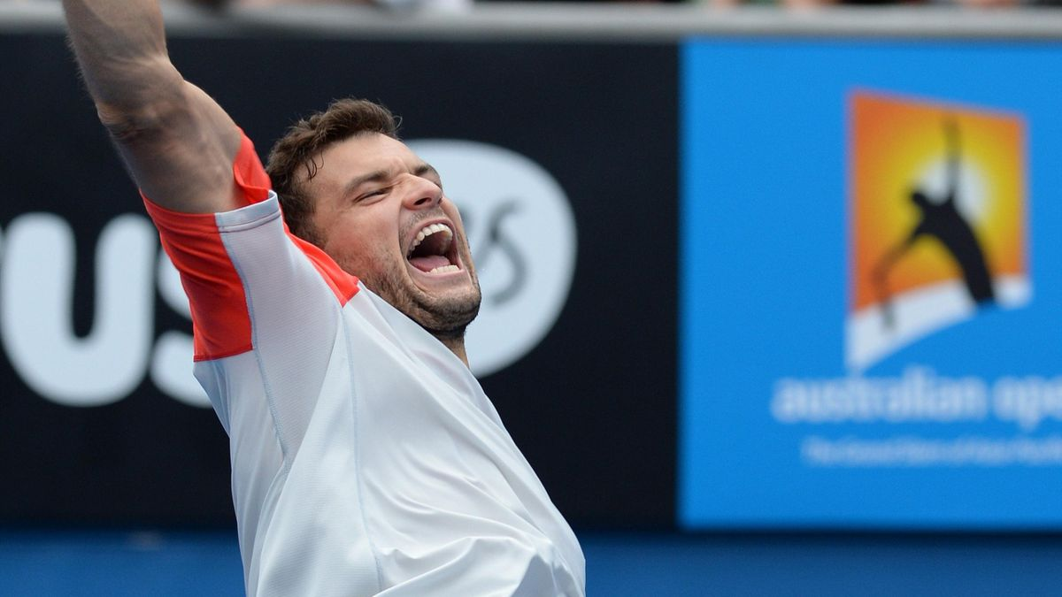 TENNIS Open d'Australie 2014 Grigor Dimitrov