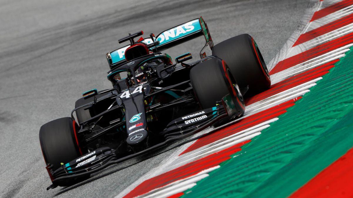 Lewis Hamilton und Mercedes dominieren im Training in Spielberg