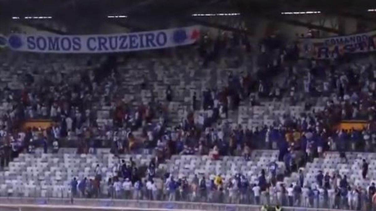 Фанаты «Крузейро»
