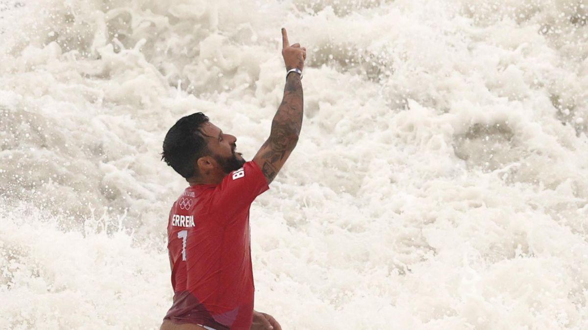 Italo Ferreira (Brasil, surf). Juegos Olímpicos de Tokio 2020