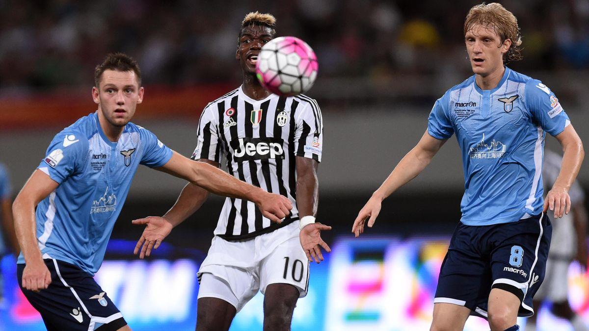 Pogba, en el Juventus-Lazio.