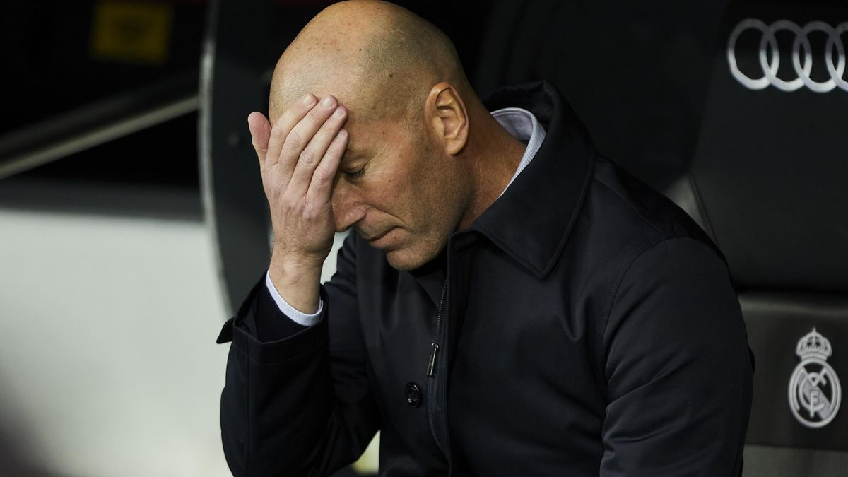 Zinedine Zidane coach of Real Madrid