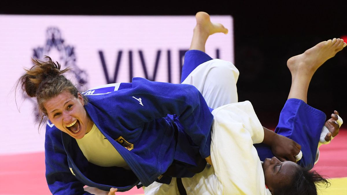 Anna-Maria Wagner (l.) im WM-Finale