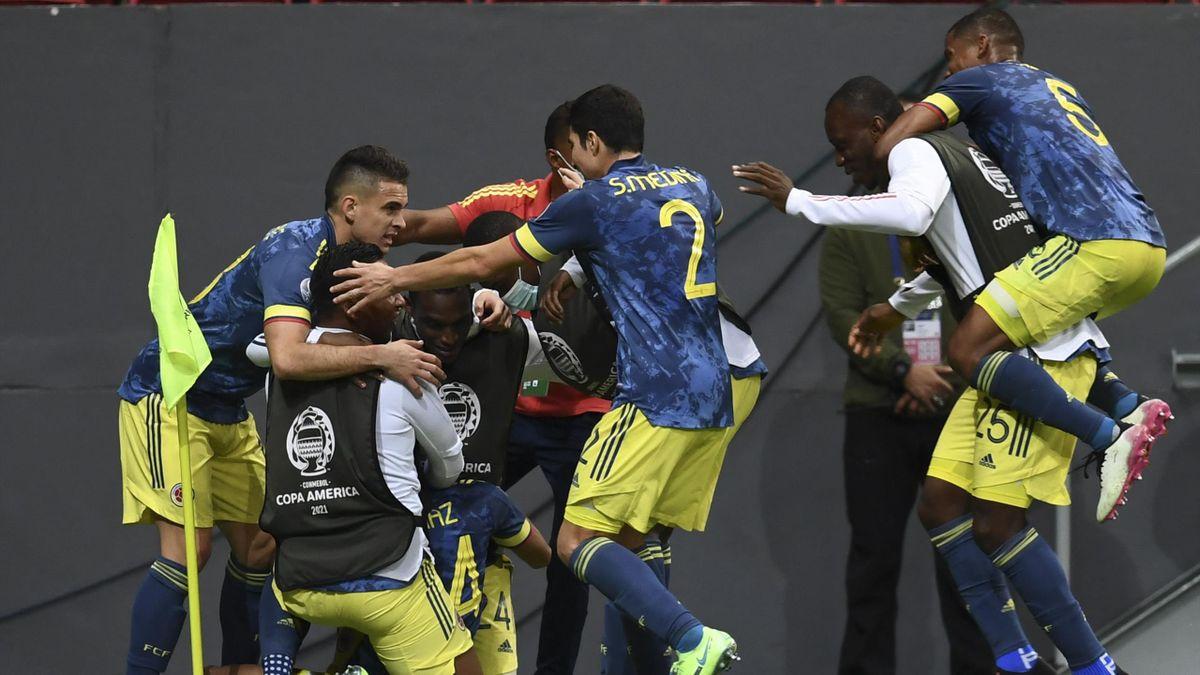 Kolumbia-Peru Copa America