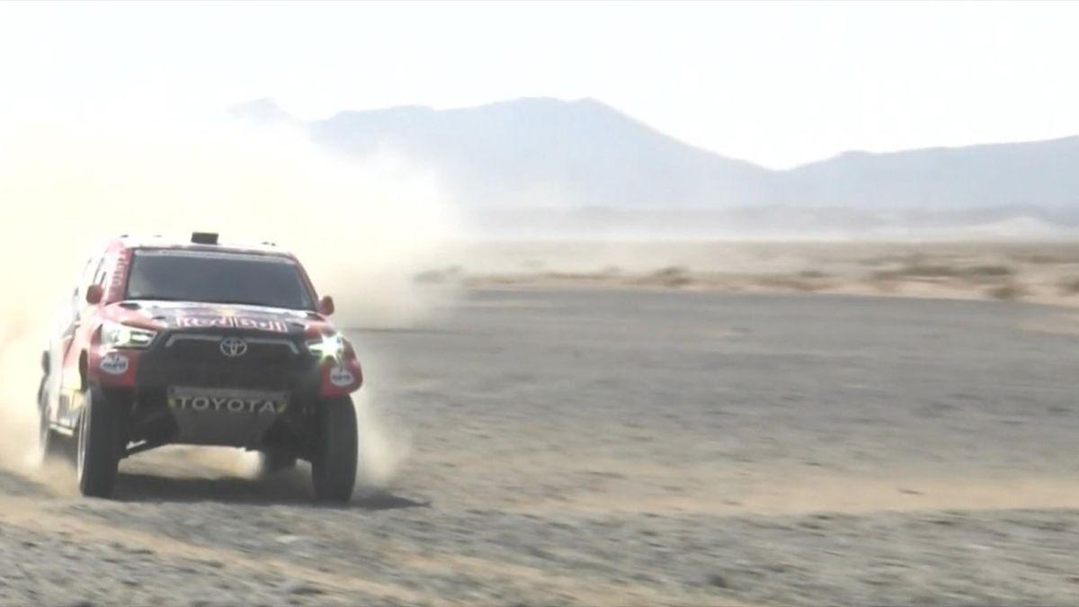 Nasser Al-Attiyah bei der Rallye Dakar 2021