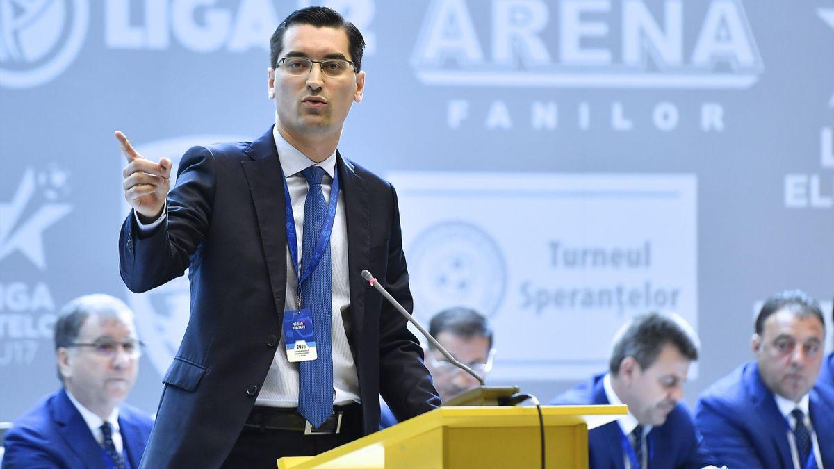 Răzvan Burleanu a obținut de la guvern modificarea protocolului medical pentru Liga 1