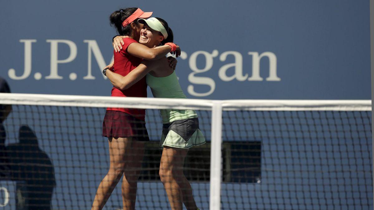 Hingis und Mirza gewinnen das Doppel in St. Petersburg