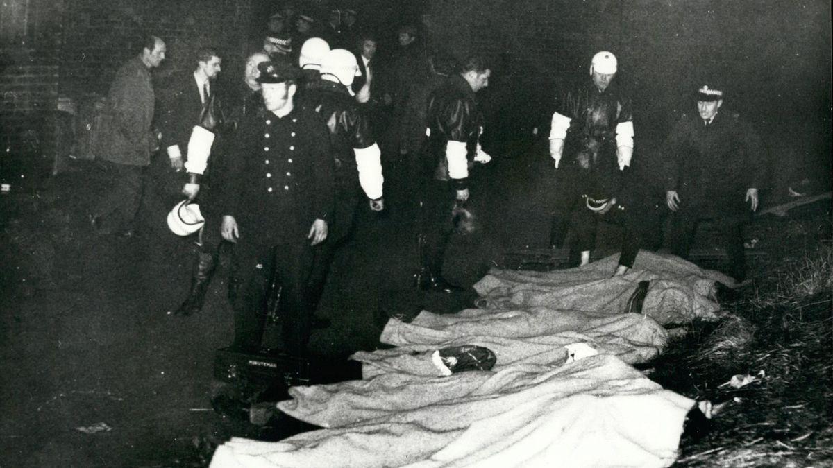 Die Katastrophe im Ibrox-Park forderte 66 Opfer.