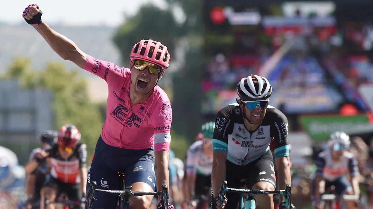 Magnus Cort Nielsen, double vainqueur sur la Vuelta 2021