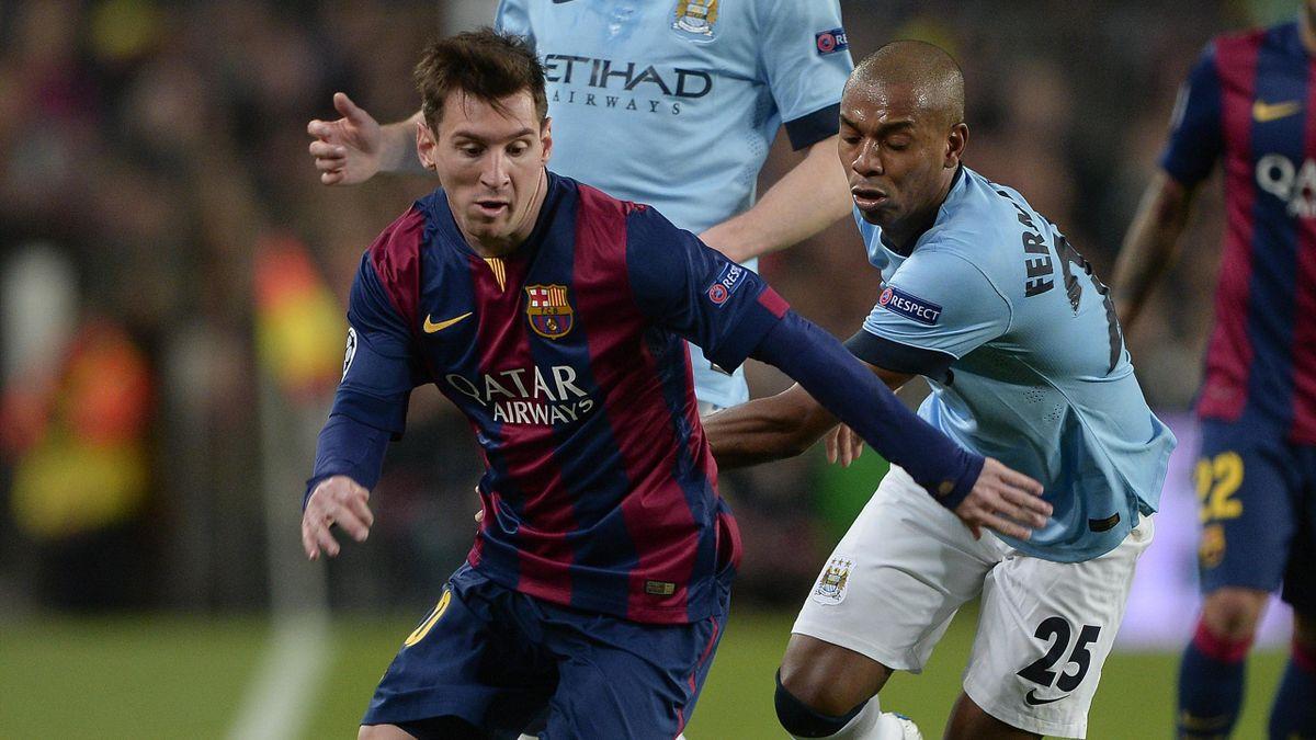 Lionel Messi (FC Barcelone) a régalé le Camp Nou lors de la réception de Manchester City