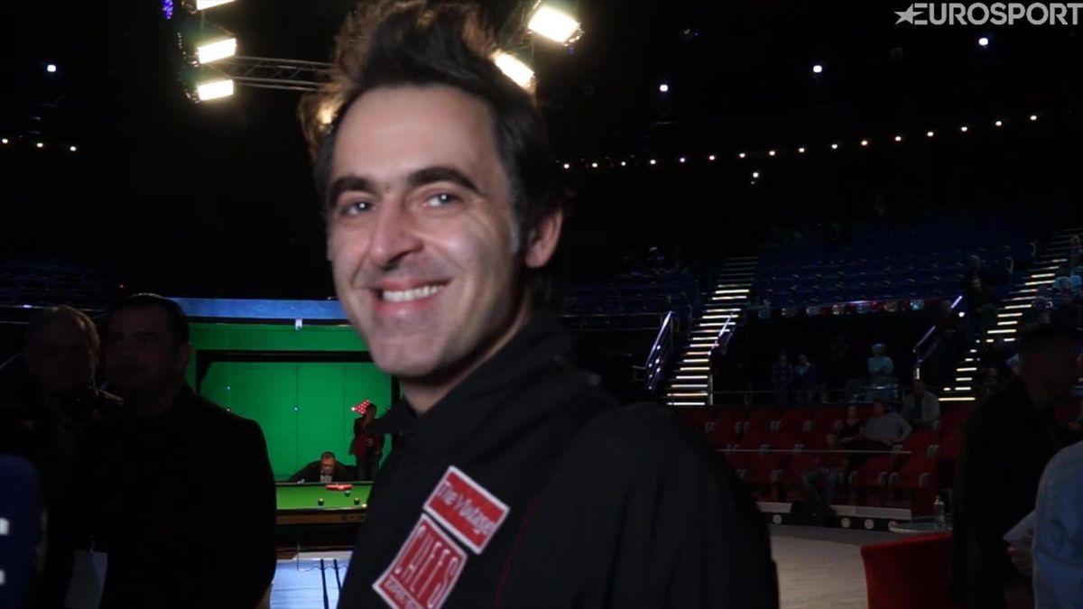 Interviu exclusiv pentru Eurosport.ro cu Ronnie O'Sullivan