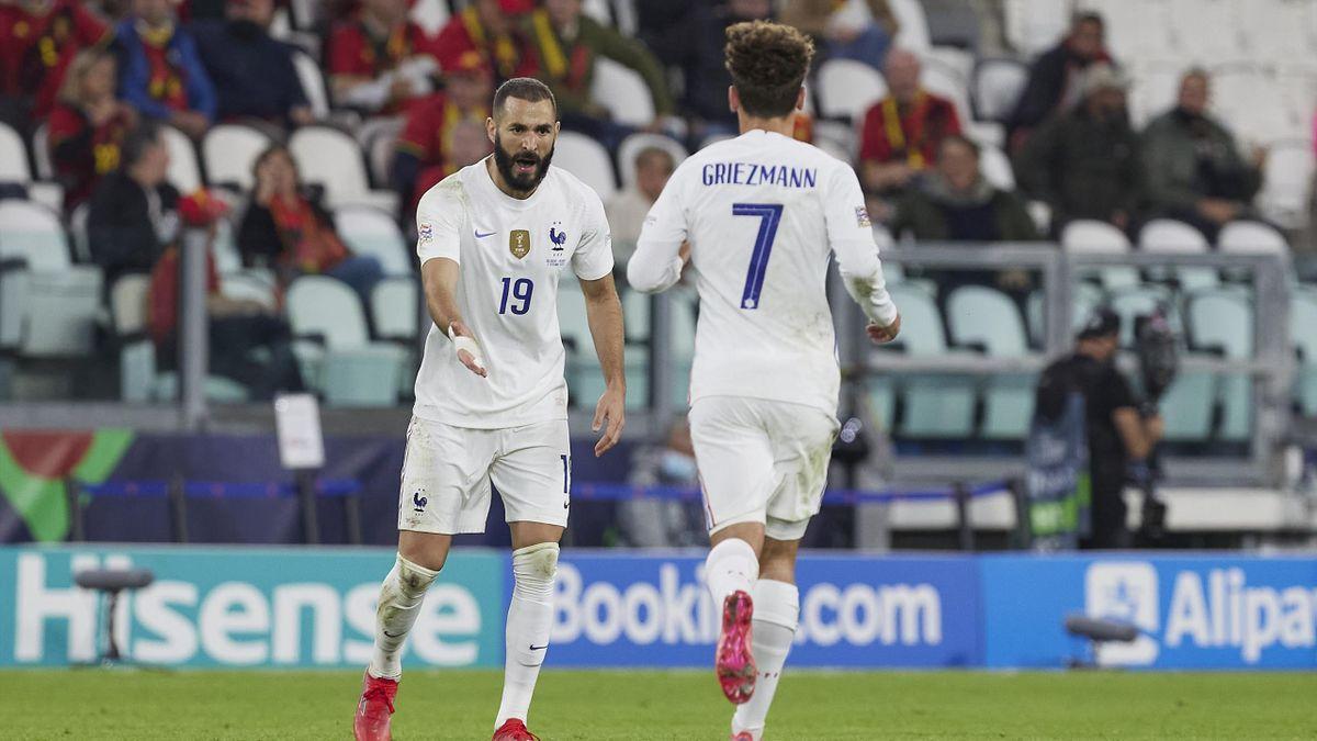 Griezmann y Benzema