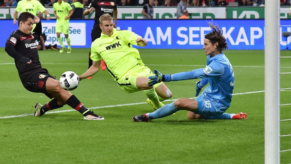 Bayer Leverkusen gegen FC Augsburg