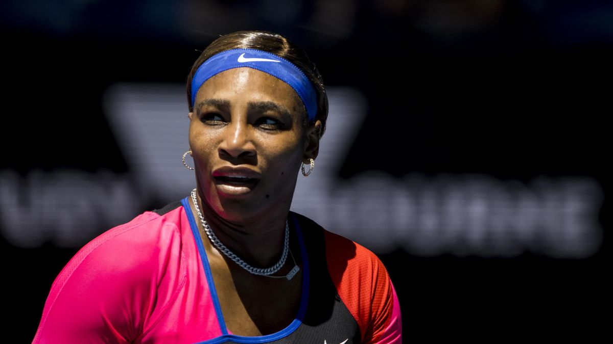 Serena Williams of the United States of America in action during round 3 of the 2021 Australian Open on February 12 2020, at Melbourne Park in Melbourne
