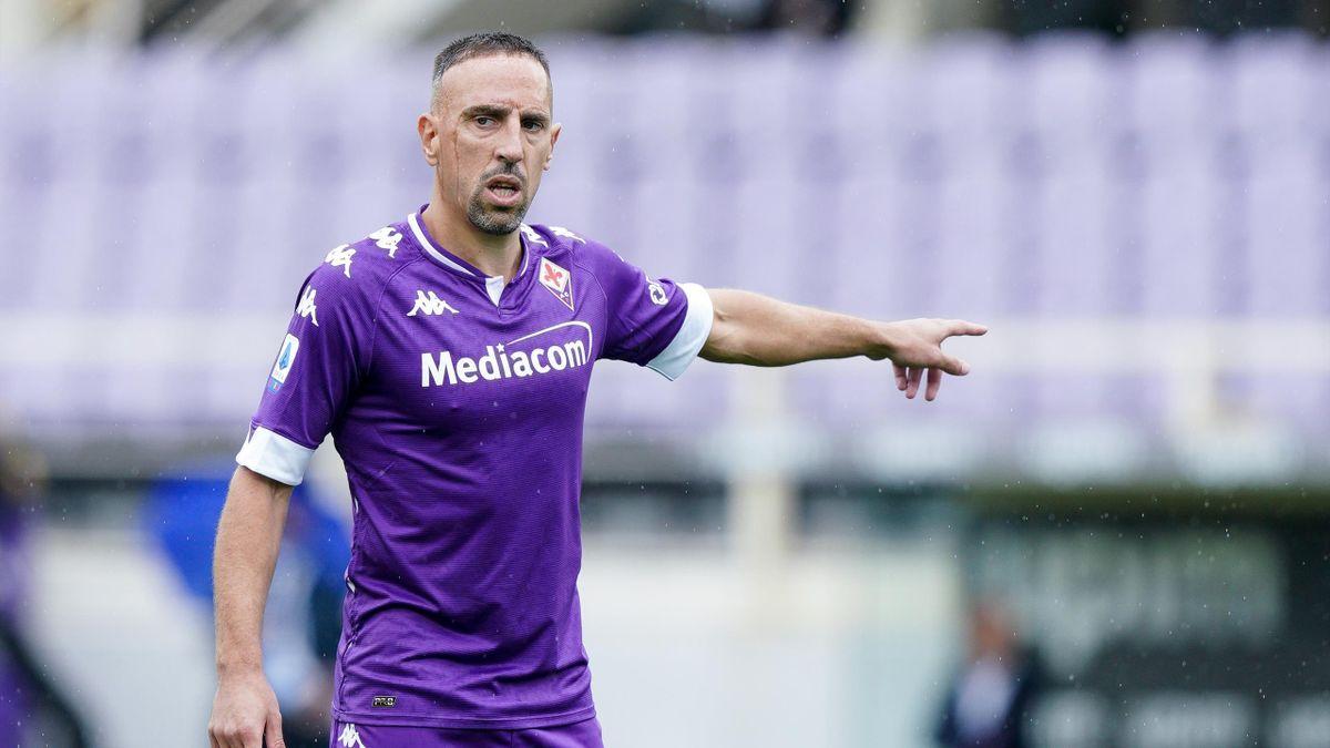 Franck Ribéry, Fiorentina 2020-2021 (Getty Images)