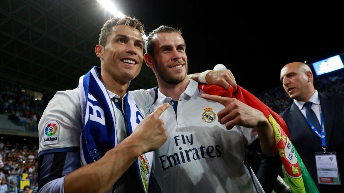 Gareth Bale, Cristiano Ronaldo - Malaga-Real Madrid - Liga 2016/2017 - Getty Images