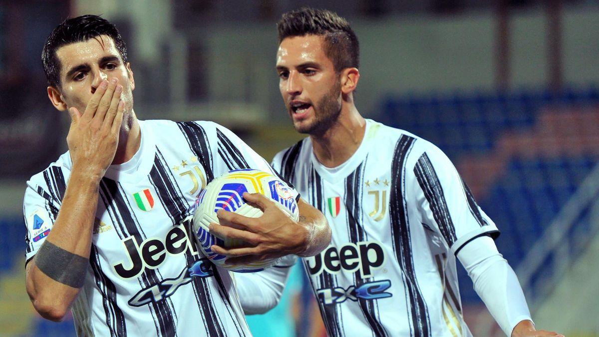 Crotone Juventus Morata