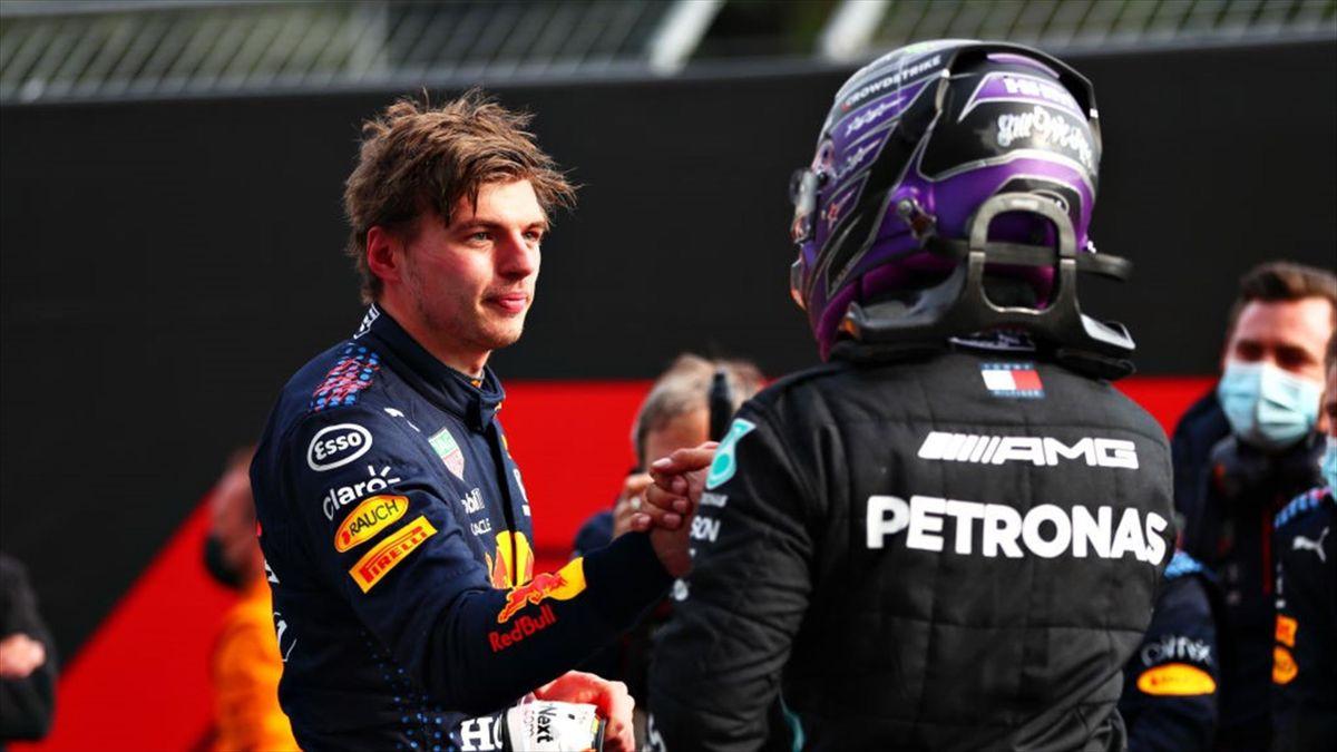 Max Verstappen e Lewis Hamilton - Mondiale F1 2021